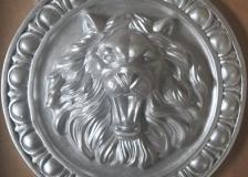 Лев серебро