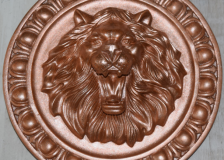 лев бронза